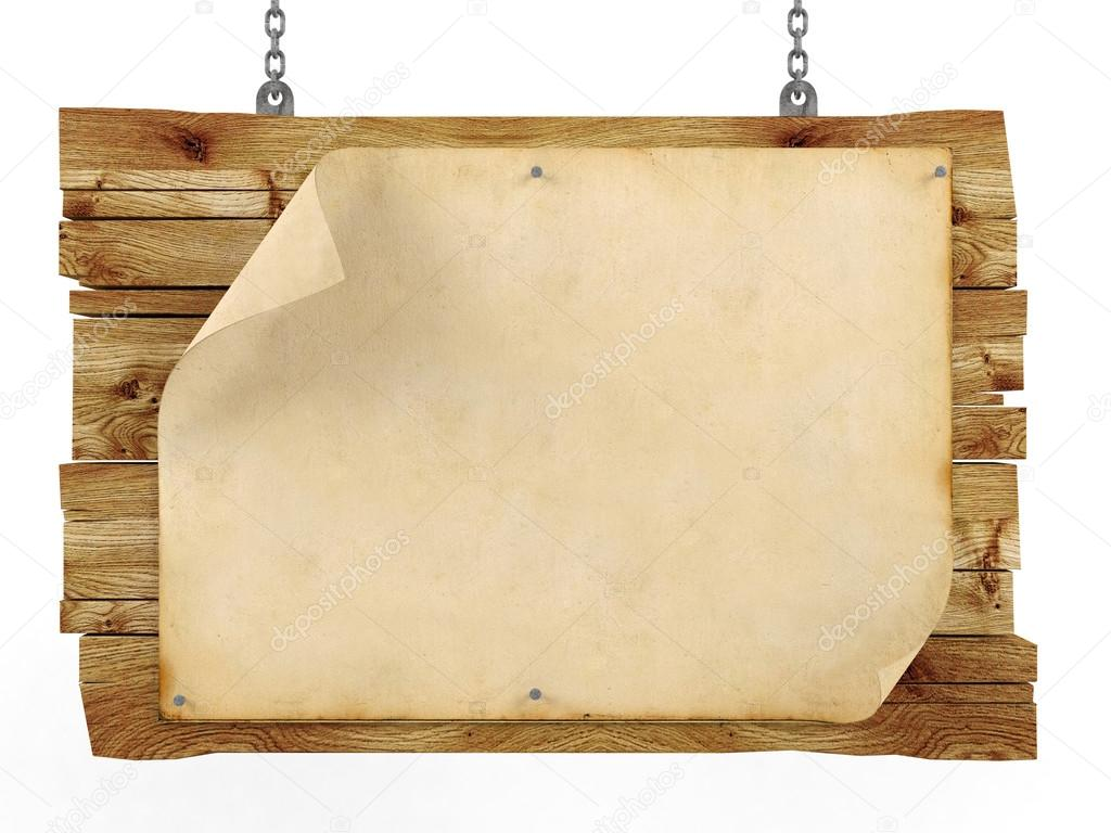 Amazoncom blank wooden sign