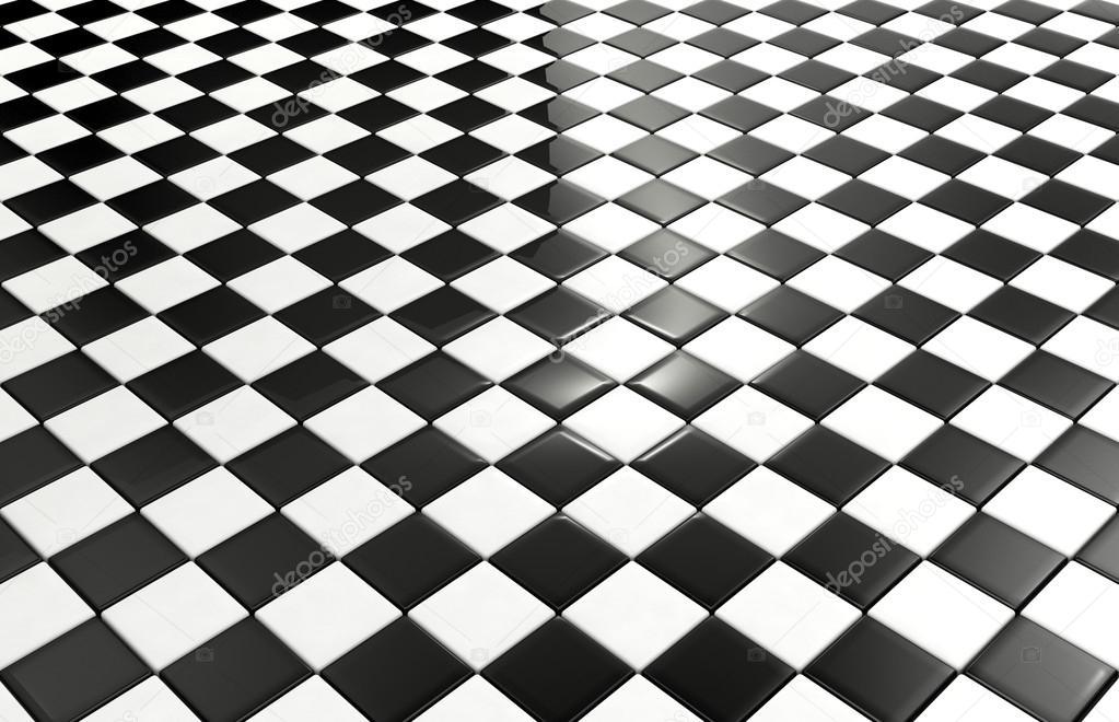 Zwart Wit Tegels : Zwarte en witte tegels achtergrond u stockfoto geerati gmail