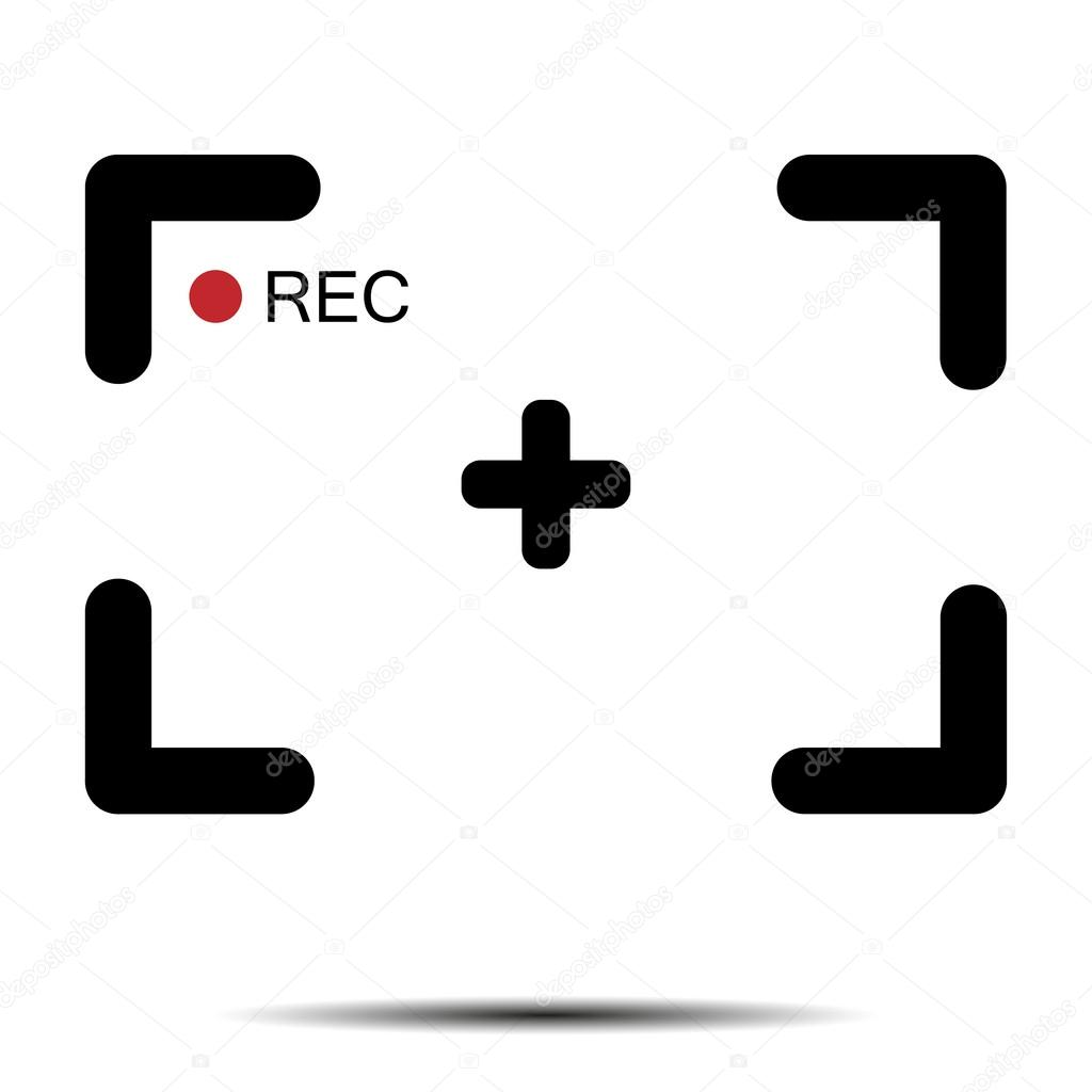 Record a video frame — Stock Vector © leberus777.gmail.com #100342298