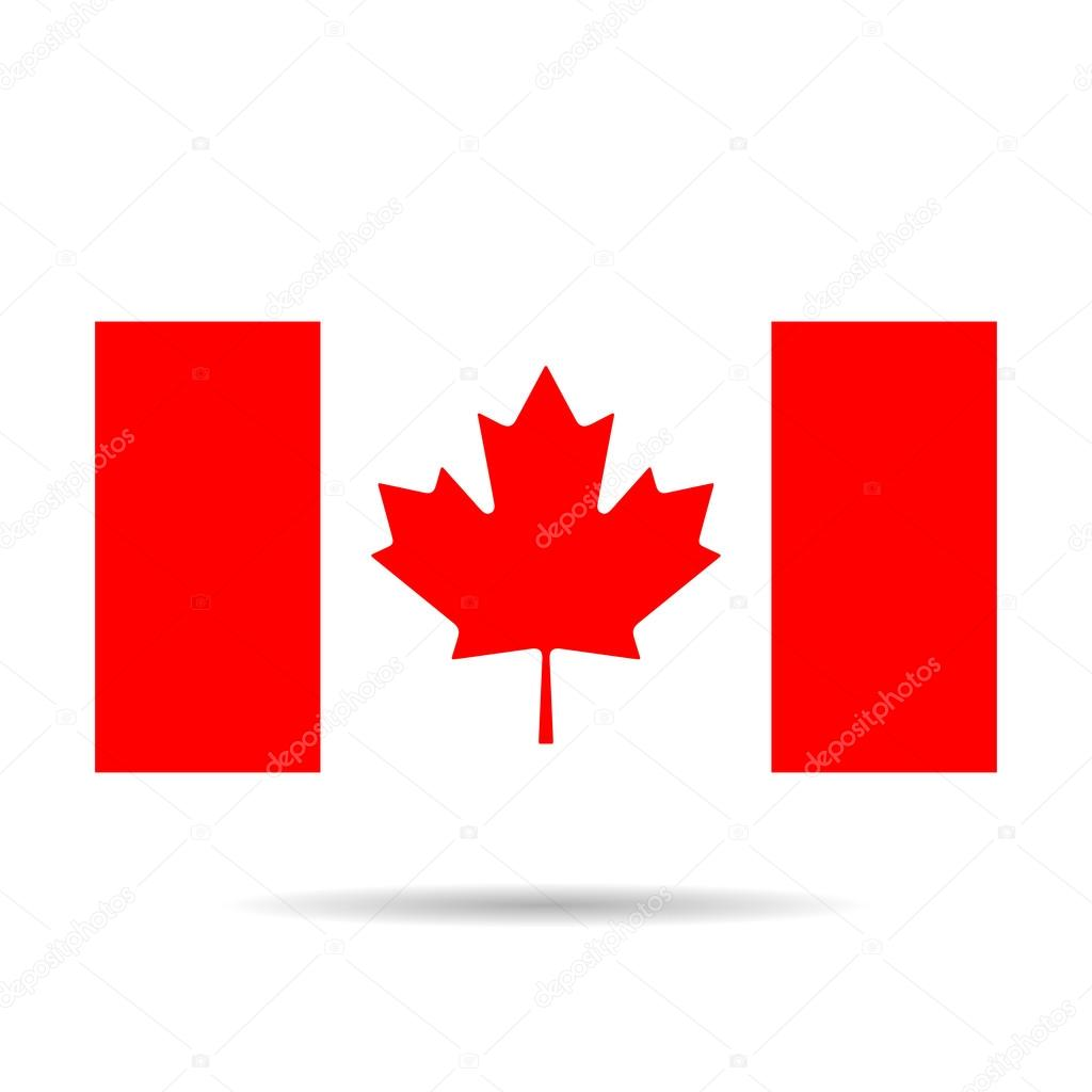 Imagen de la bandera de Canadá. Canadá bandera Jpg Canadá bandera ...