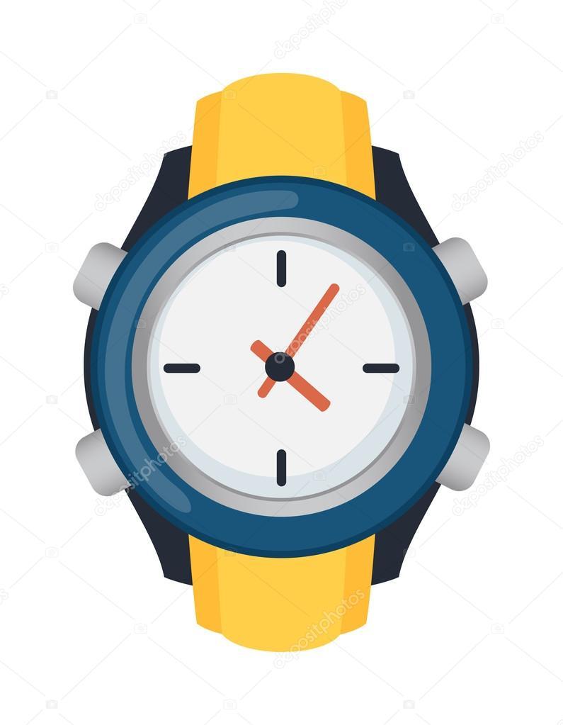 hand watch vector illustration stock vector luplupme gmail com rh depositphotos com vector watch app vector watch price