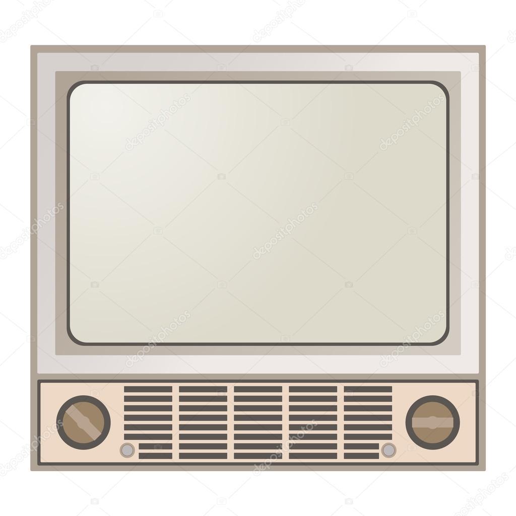 retro tv screen. retro tv screen vector illustration \u2014 stock #122141250 tv .
