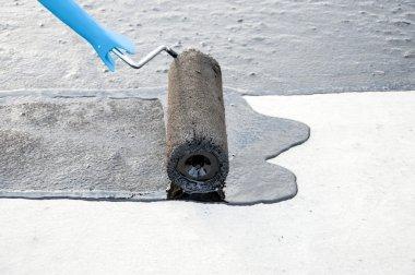 roller brush,  waterproofing