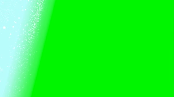 Animated snow fall on green screen chroma key heavy snowfall jacket backdrop for natural calamity news snow related broadcasting program
