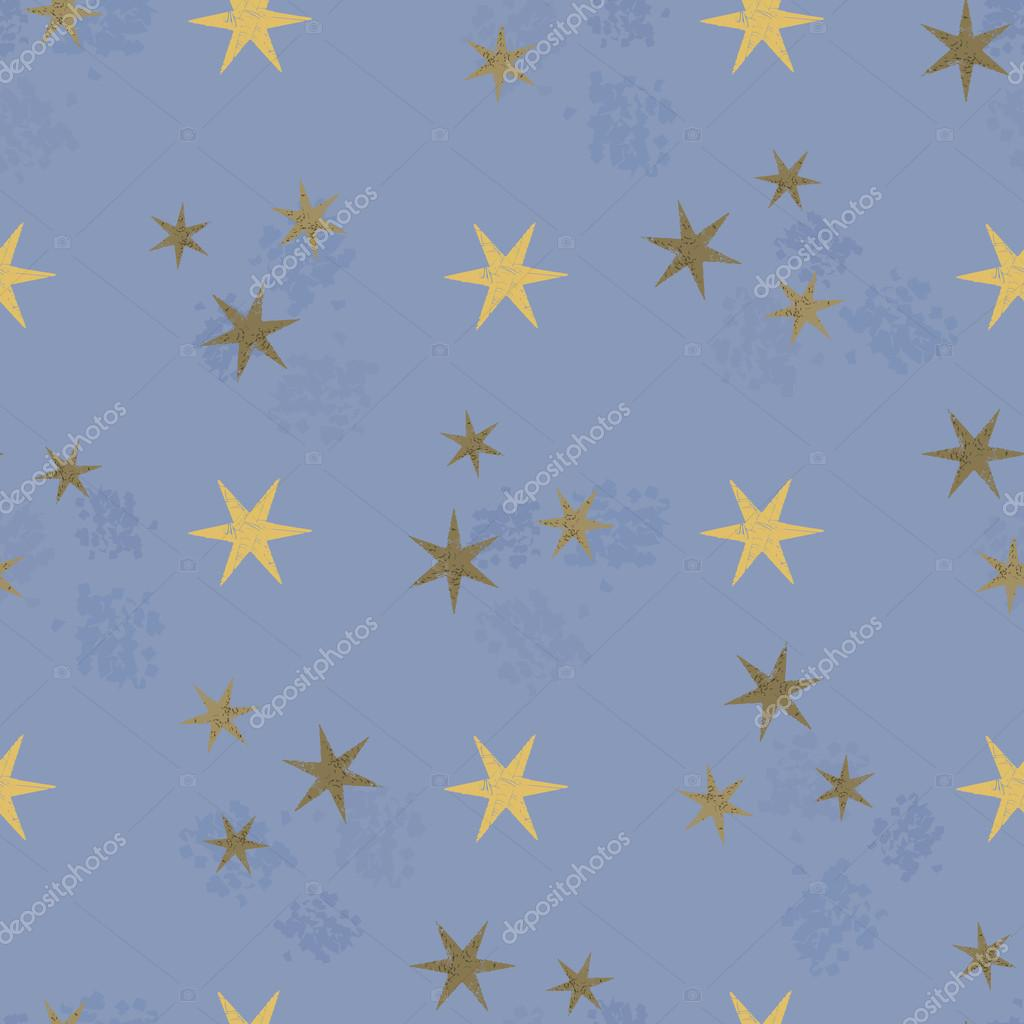 星のシームレスなパターン — ストックベクター © anaittsmi.gmail