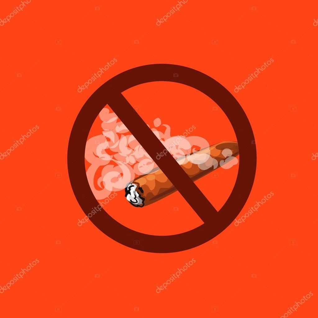 Lutte Contre Le Tabac Interdiction De Fumer Des Cigares Image