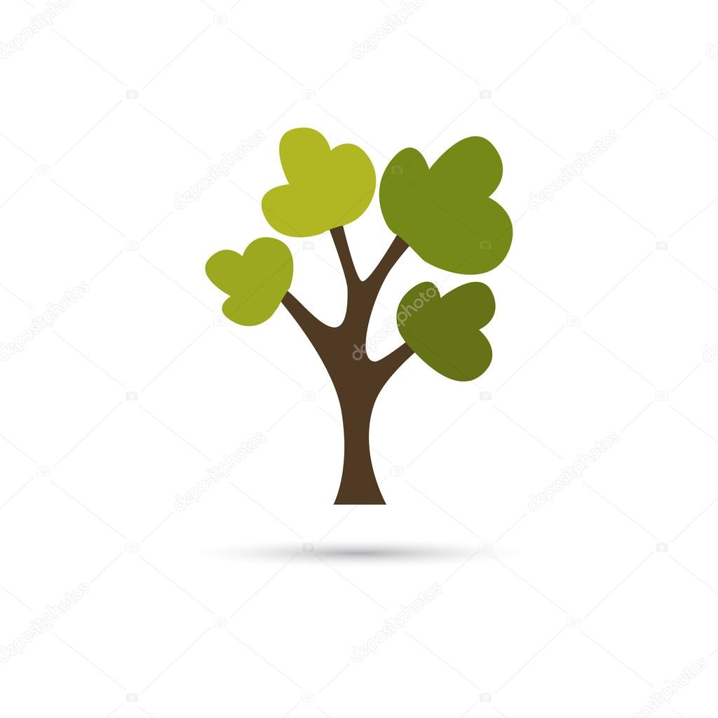 葉樹のカラー イラスト ストックベクター Lynxvector 96004938