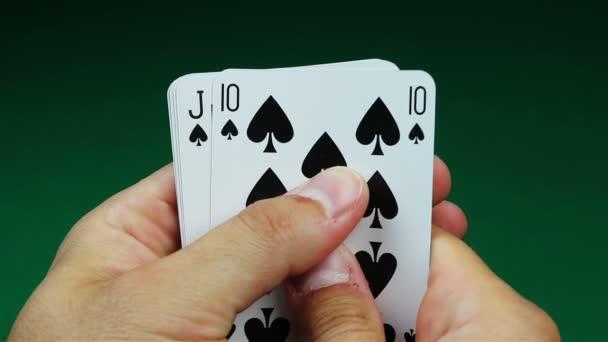 Royal flush poker ruce a hra tabulka