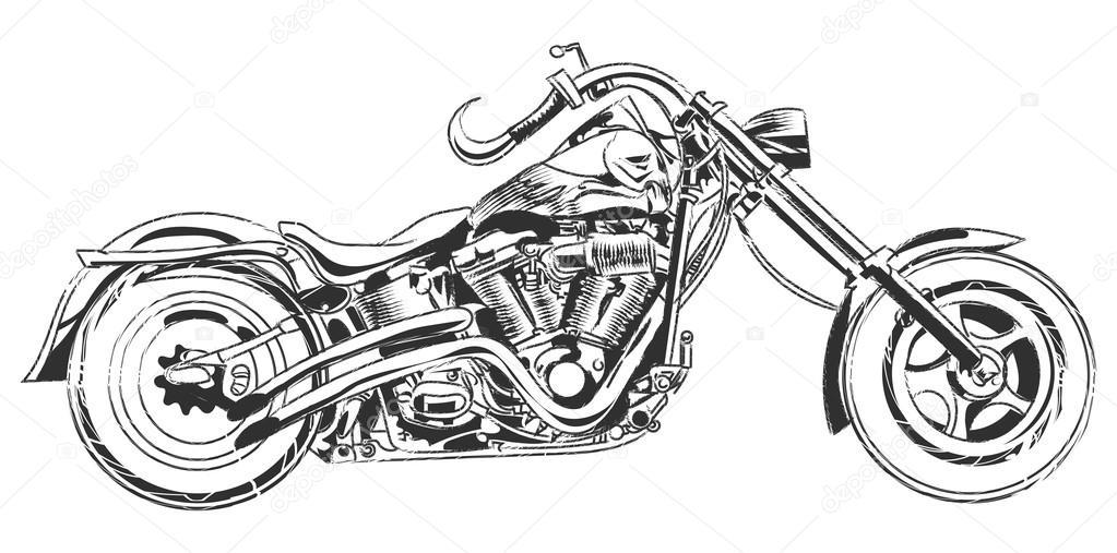 Resultado de imagem para motocicleta desenho