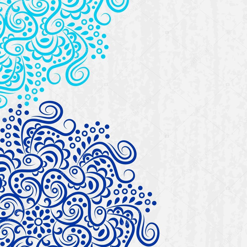 Background mandala vector — Stock Vector © jelisua88 #101509822