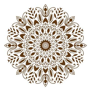 Mandala decorative ethnic circular ornament
