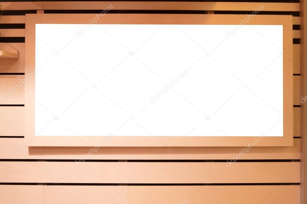 Raum-Papier-Rahmen kopieren auf Holzwand — Stockfoto © nakhonbato ...