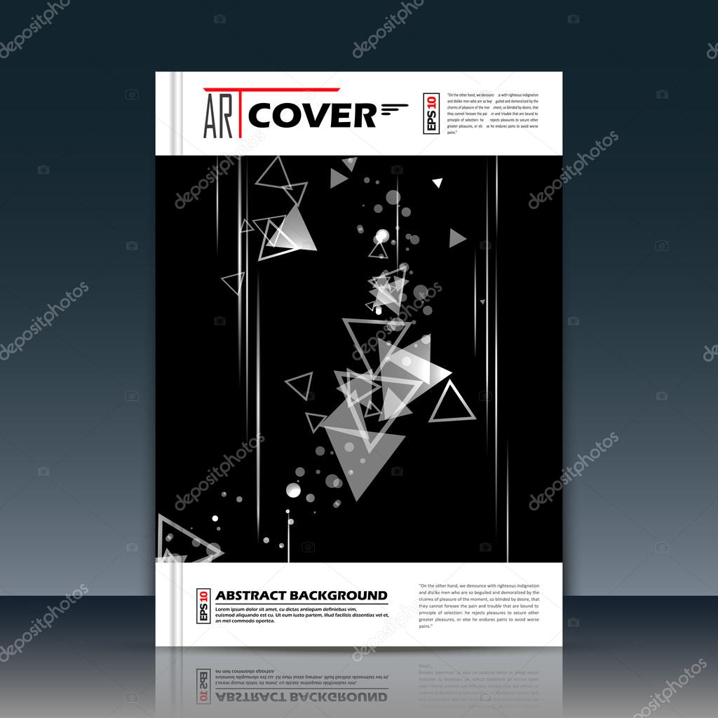 Abstract composition, black, white outer space galaxy, glory star ray, a4 brochure title sheet, cosmic sky icon, text frame surface, creative figure, logo sign, firm banner form, flier fashion, EPS10