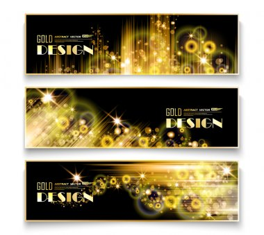 Abstract composition, best offer flyer, shiny golden bubbles foundation, purchase discount coupon, seasonal sale leaflet, creative reduction advertising message, shopping mockup, EPS10 illustration