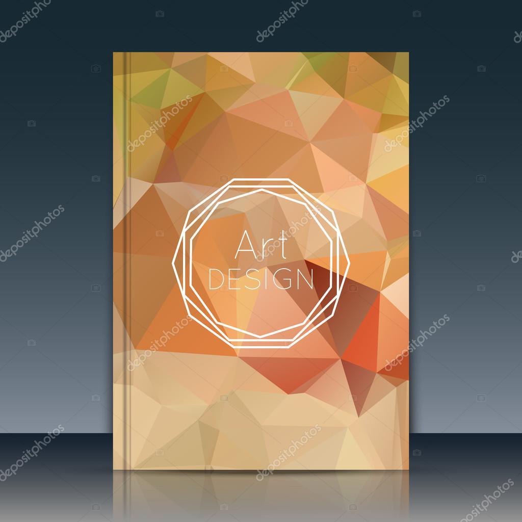 Resumen cubierta, cubierta del informe anual. Vector de la cubierta ...