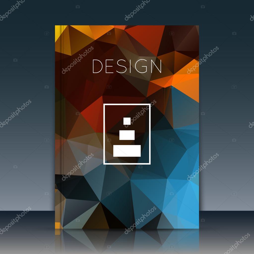 abstract brochure annual report brochure brochure vector brochure