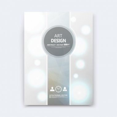 Abstract composition, silver font texture, grey stripe section cover surface, white light circle construction, brochure title sheet, creative vector art, commercial offer, banner form, flyer fiber