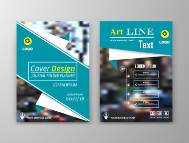 Abstract composition. Colored editable cover image texture. Flier set construction. Urban city view banner form. White a4 brochure title sheet. Creative figure icon. Firm name logo surface. Flyer font