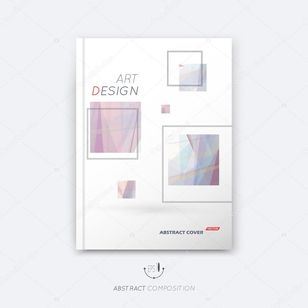 Abstrakte Komposition Rosig Pastell Quadrat Bau Schrift Textur Box