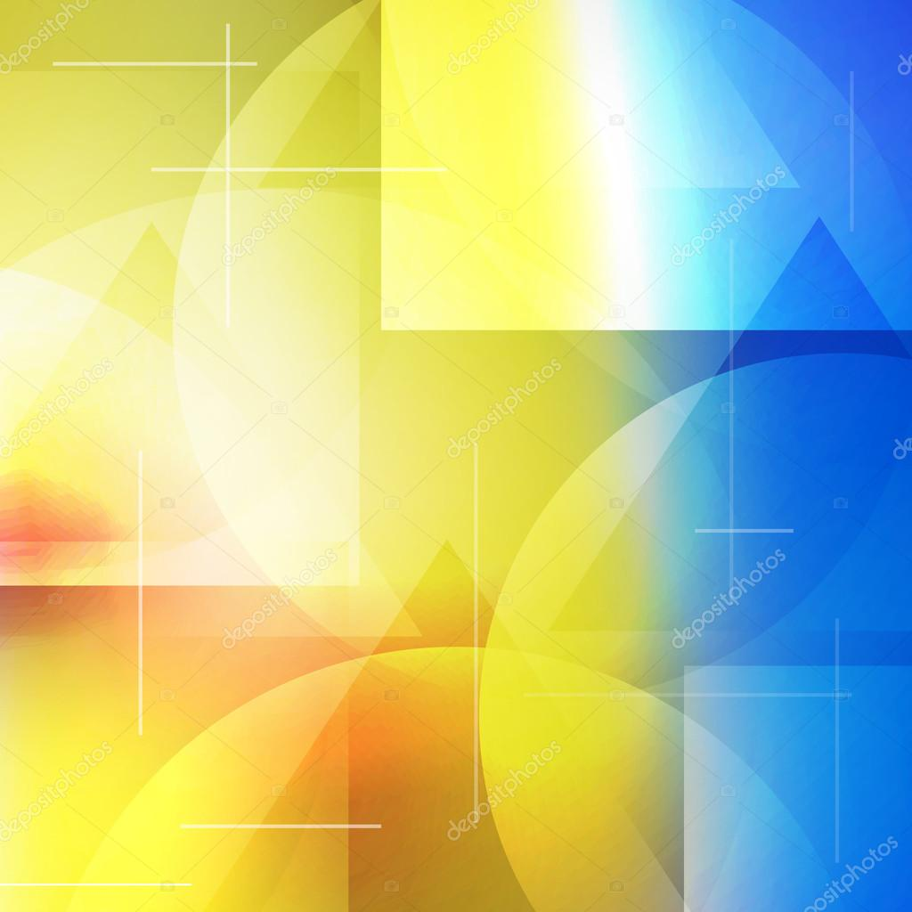 Abstract Composition. Futuristic Technology Backdrop
