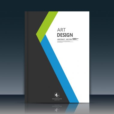 Abstract composition. Black, white brochure cover. Blue, green section title sheet. Creative logo figure flyer fiber. Ad banner form texture. Text frame surface. EPS10 label icon backdrop. Vector art