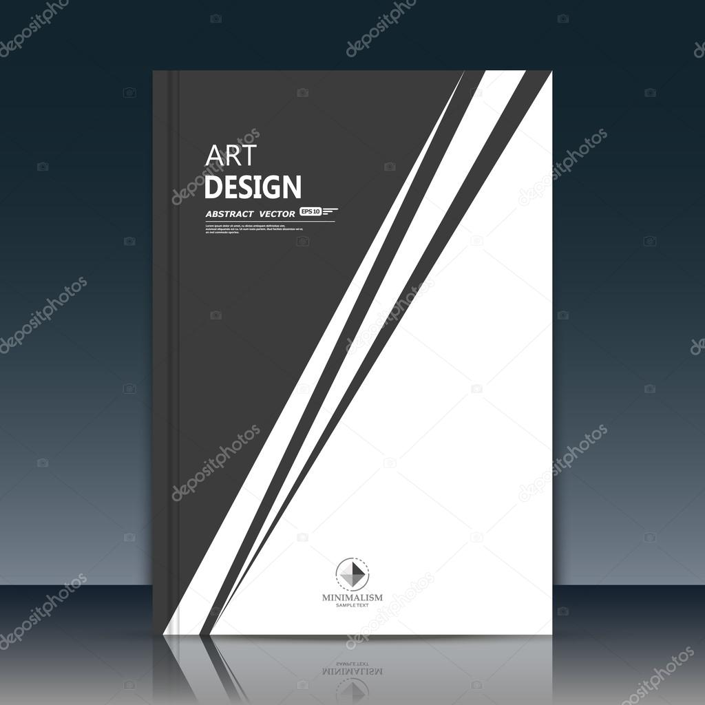 Abstract composition. Black and white brochure cover. Triangle section title sheet. Creative logo figure flyer fiber. Ad banner form texture. Text frame surface. EPS10 label icon backdrop. Vector art