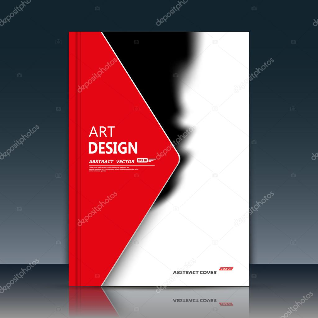 abstract composition black white color brochure grunge flyer