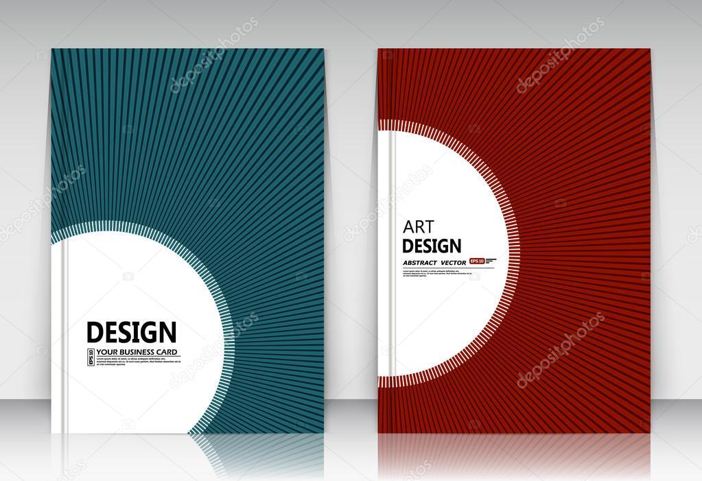 Abstrakte Komposition, Business-Karten-Set, Korrespondenz Sammlung ...