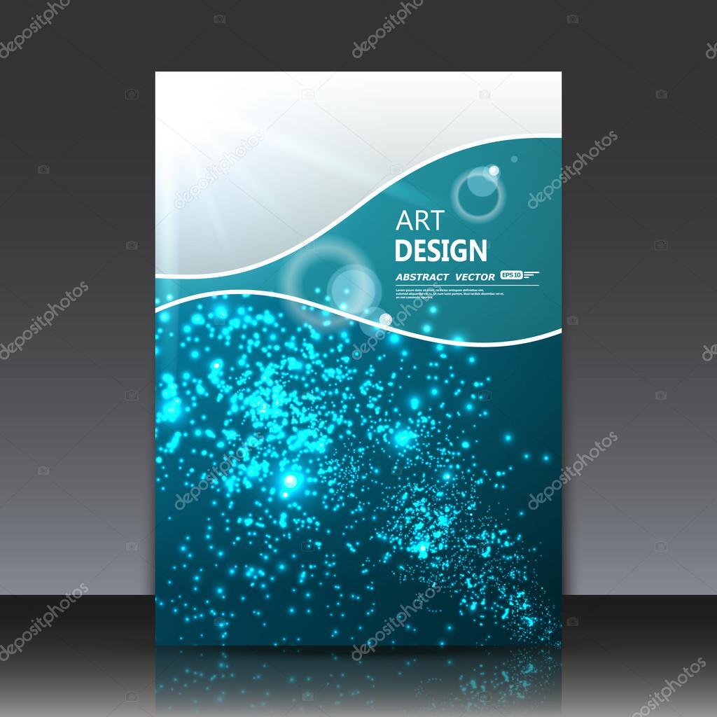 Abstrakte Komposition, Wasser Kreis Effekt-Symbol, Luft Perle im ...