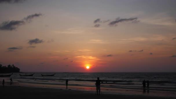 Cinemagraph - Kamala Beach Sunset Timelapse - Thailand