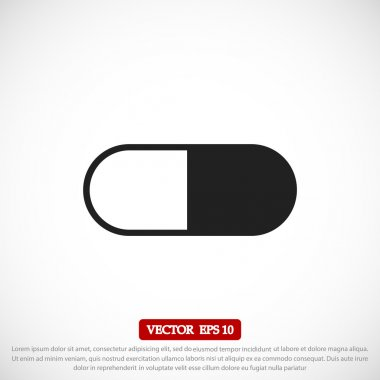 medical capsule icon