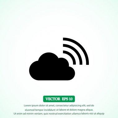 wi-fi cloud icon