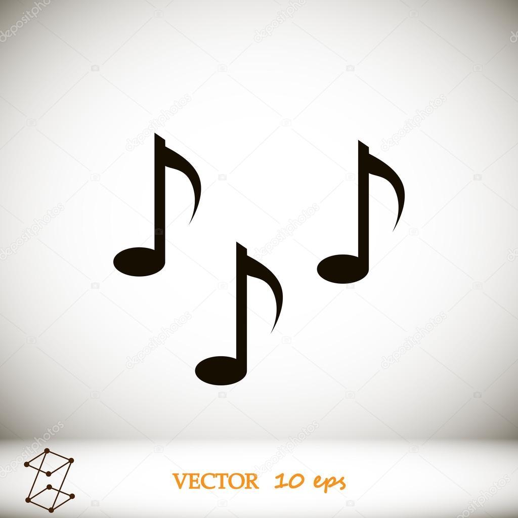 musiknoten symbol