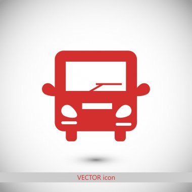 bus icon illustration