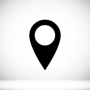pointer, location icon