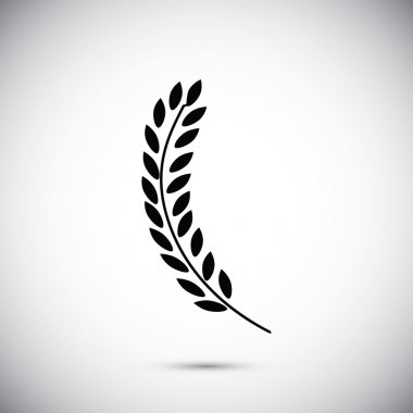 natural wheat icon