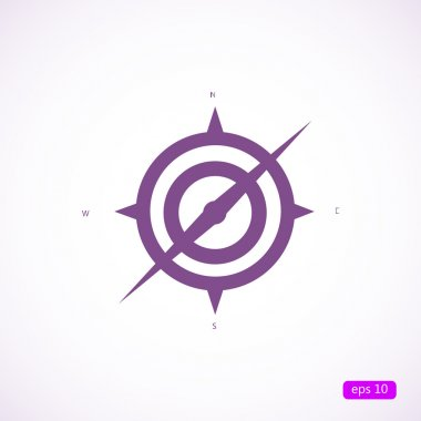 compass sign icon