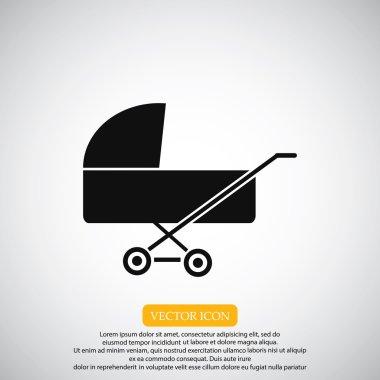 baby pram icon