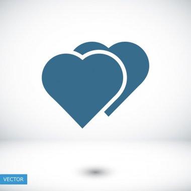 Hart shape icon vector illustration stock vector