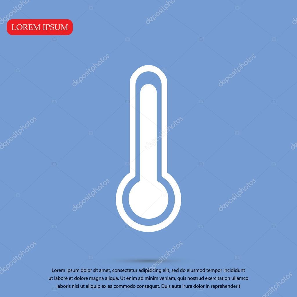 design termometern ikonen stock vektor simva 99350076. Black Bedroom Furniture Sets. Home Design Ideas