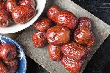 Red dates, jujube, Hetian jujube, fruit, dried fruit, sweet, red food, Xinjiang jujube, jujube in Ruoqiang