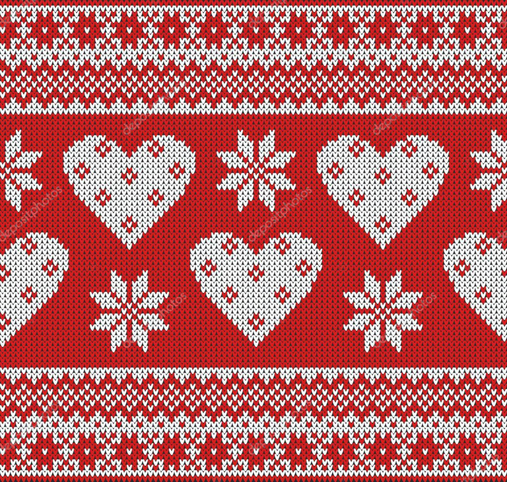 Seamless Pattern On The Theme Of Valentines Day With An Image Of The