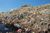 Photo Toxic household trash and hazardous industrial waste contaminates soil and groundwater at the largest, most polluted landfill site on Bali, Indonesia