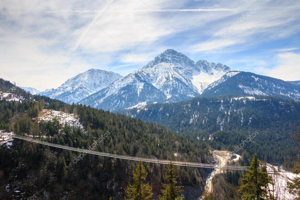Landscape view of Alps