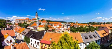 Cesky Krumlov from the top