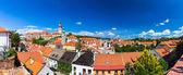 Fotografie Letecký pohled na staré město