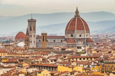 View of Duomo in Florence