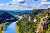 View from viewpoint of Bastei