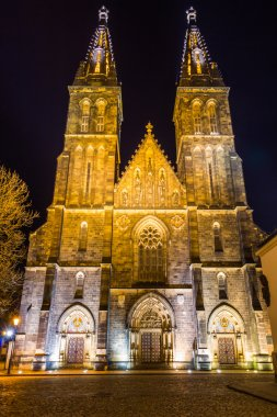 Basilica of St Peter and St Paul in Vysehrad