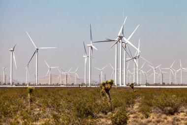"Картина, постер, плакат, фотообои ""ветряная мельница в пустыне мохаве "", артикул 100197164"